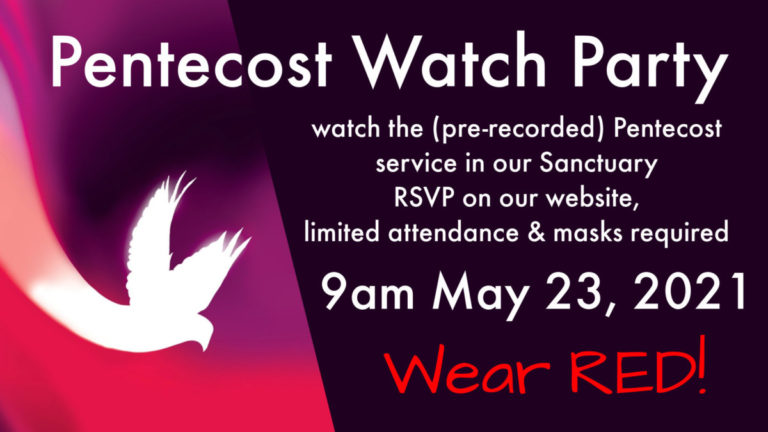 Pentecost Watch Party