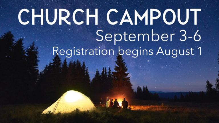 Annual Church Campout